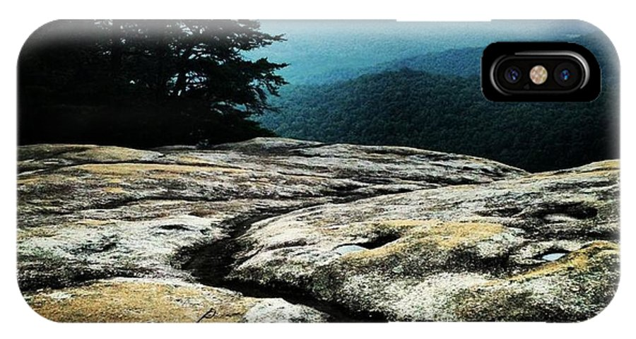 IPhone X Case featuring the photograph Stone Mountain by Samantha Boyce