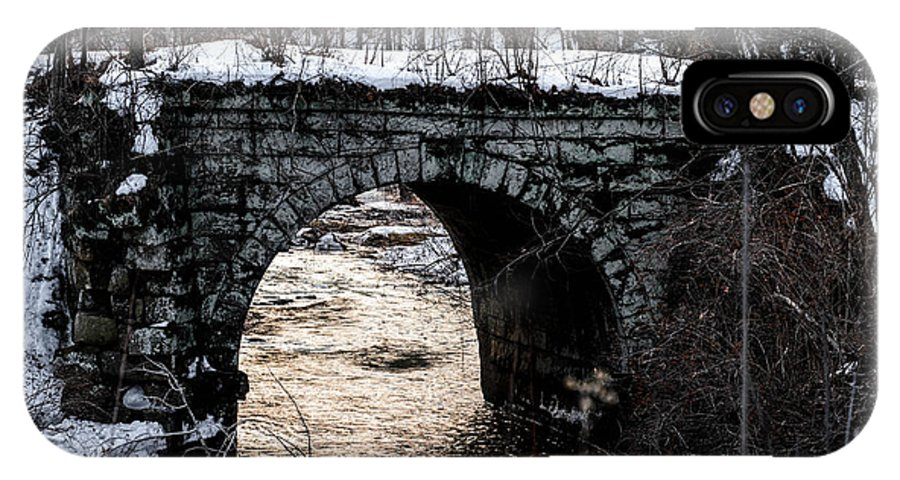 Bridge IPhone X Case featuring the photograph Stoney Bridge by Anthony Thomas