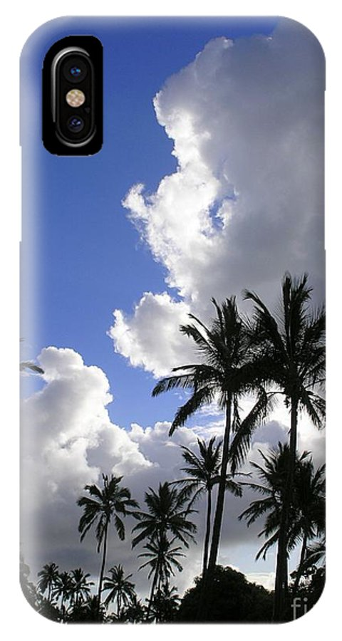 Mary Deal IPhone X Case featuring the photograph Storm Rolling In by Mary Deal