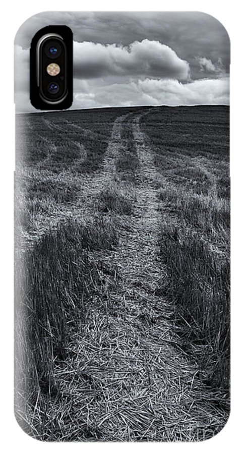 Tracks IPhone X Case featuring the photograph Storm Tracks by Mike Dawson