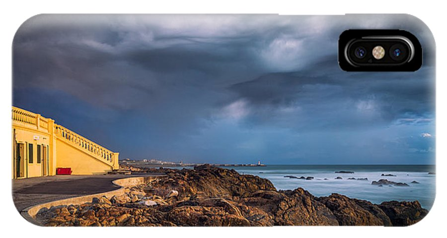 Stormy Day - Francisco Pinto IPhone X Case featuring the photograph Stormy Day by Francisco Pinto