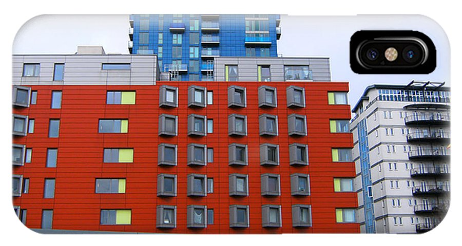 Stratford IPhone X / XS Case featuring the photograph Stratford High Street - Towards Bow Church by Mudiama Kammoh