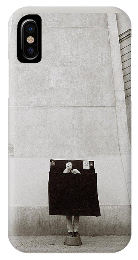 Paris IPhone X Case featuring the photograph Paris Surrealism by Shaun Higson