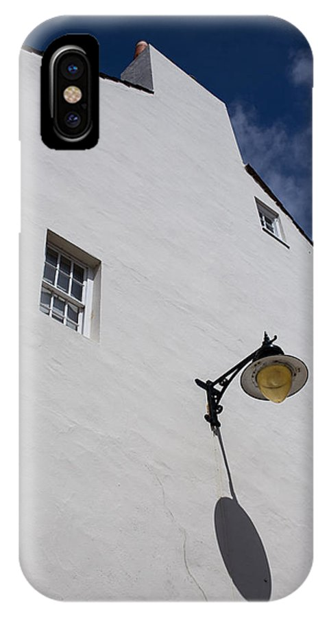 Street Lamp IPhone X Case featuring the photograph Street Lamp by Nigel R Bell