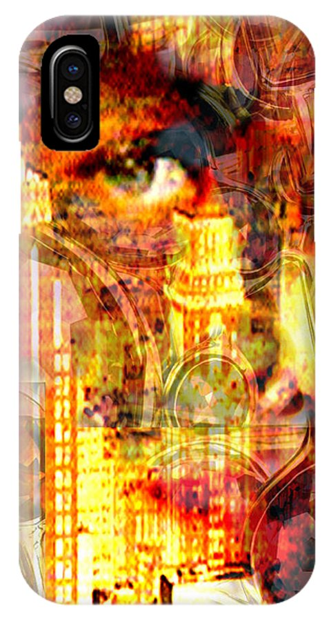 Big City IPhone Case featuring the photograph Streetwalker by Seth Weaver