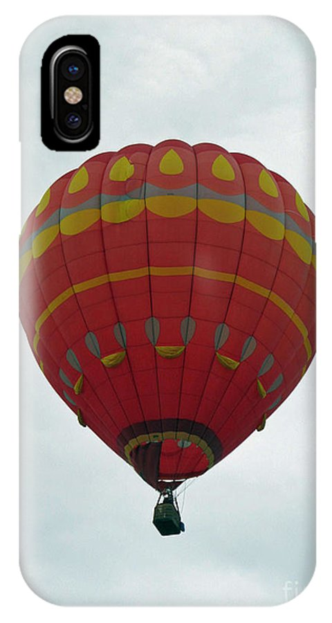 Hot Air Balloons IPhone X Case featuring the photograph Striking by Jamie Smith