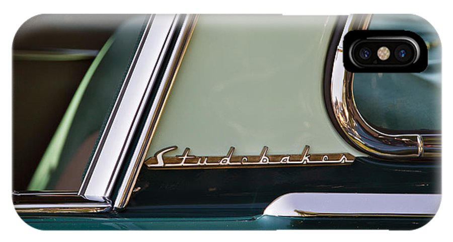 Classic IPhone X Case featuring the photograph Studebaker by Dennis Hedberg