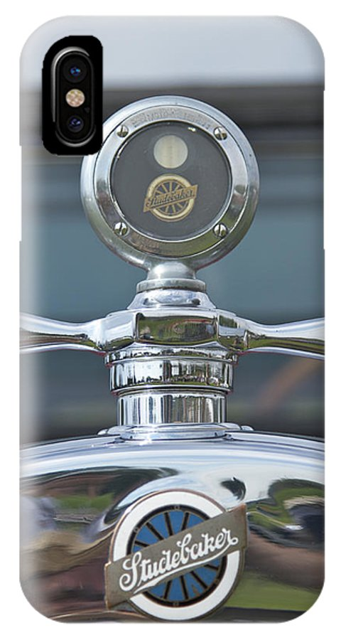 Glenmoor IPhone X Case featuring the photograph Studebaker by Jack R Perry