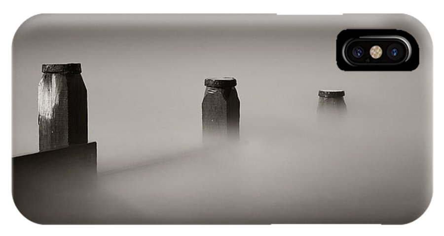 Whitstable IPhone X Case featuring the photograph Study In Minimalism by Ian Hufton