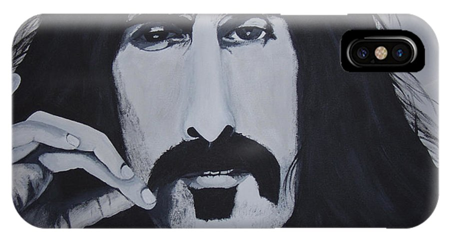 Suave IPhone X Case featuring the painting Suave 40-93 by Dean Stephens