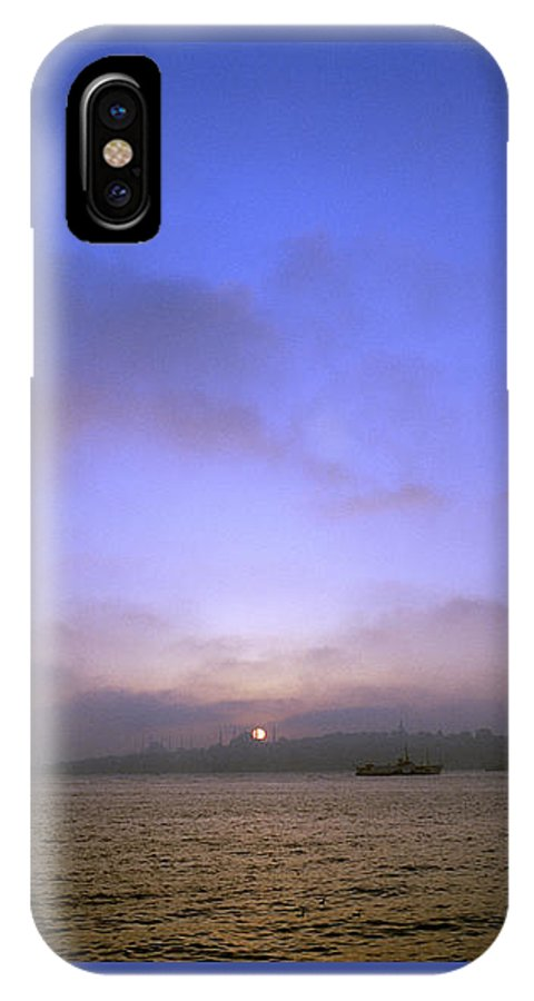 Istanbul IPhone X Case featuring the photograph Ethereal Dreams by Shaun Higson