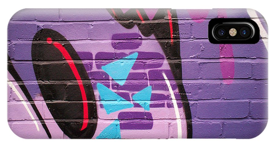 Graffiti Art Photographs IPhone X Case featuring the photograph Subterfusion 34 by Iain Duncan