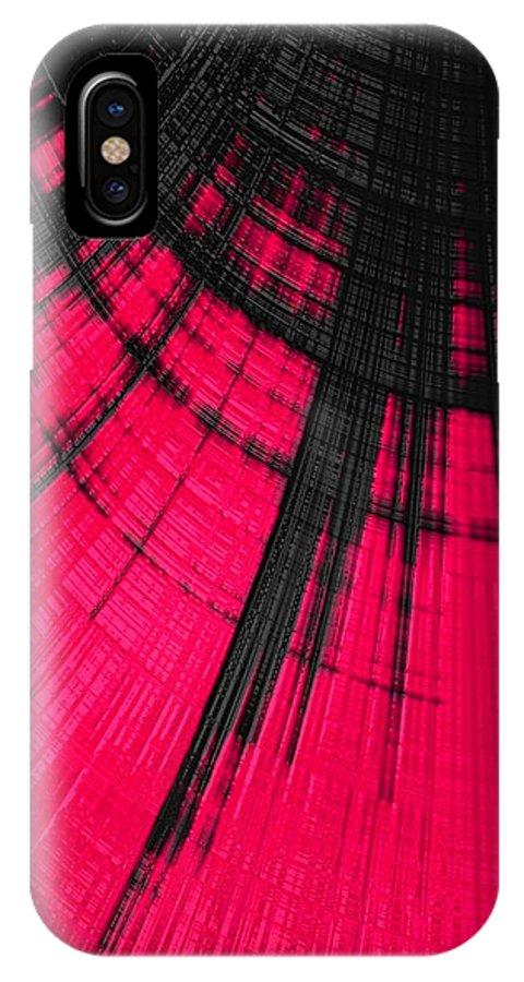 women's Fashion girl's Fashion fashion Design Fashion Design abstract Art Abstract IPhone X Case featuring the photograph Sudden Passion 03 by Bill Owen