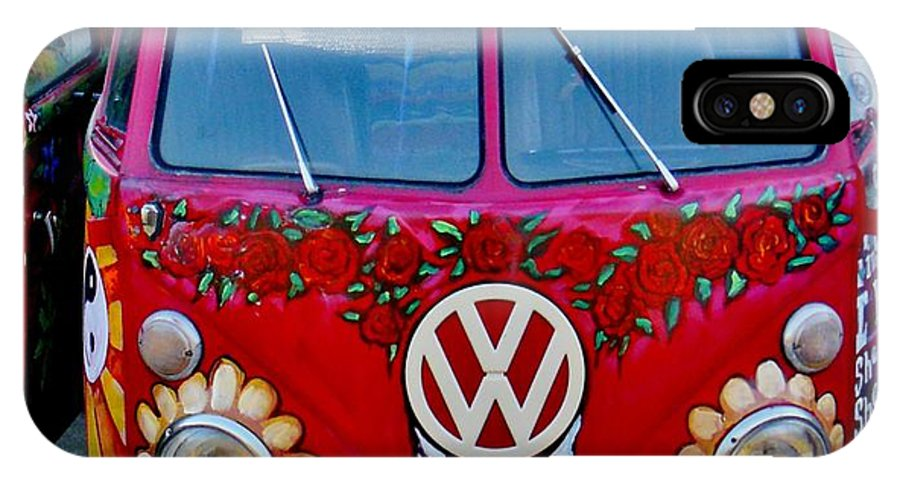 Vw Bus IPhone X Case featuring the photograph Sugaree by Kimberly Dawn Clayton