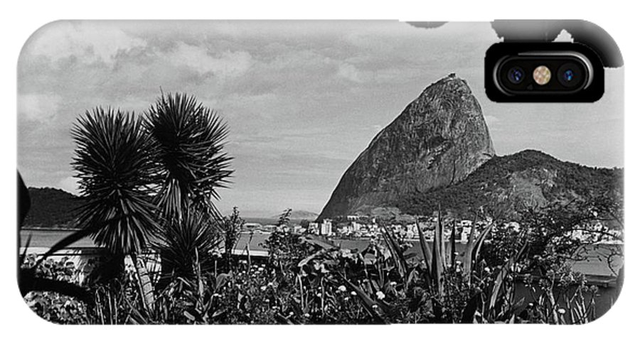 Exterior IPhone X Case Featuring The Photograph Sugarloaf Mountain Seen  From The Patio At Carlos By