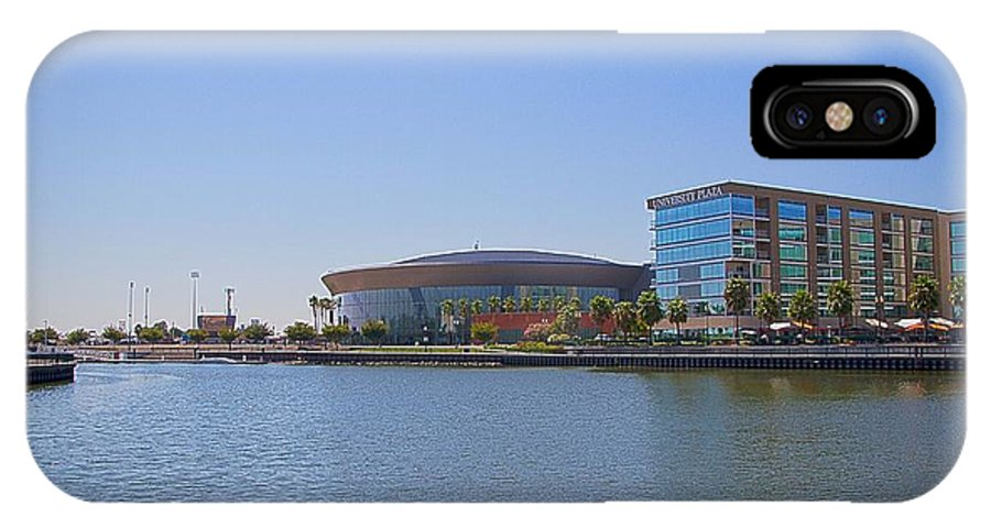 Stockton Arena IPhone X Case featuring the photograph Summer Days In Stockton by Miguel Uribe