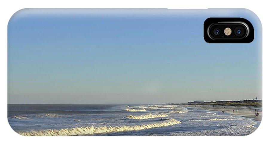 Summer Fun Jersey Shore IPhone X / XS Case featuring the photograph Summer Fun Jersey Shore by Terry DeLuco