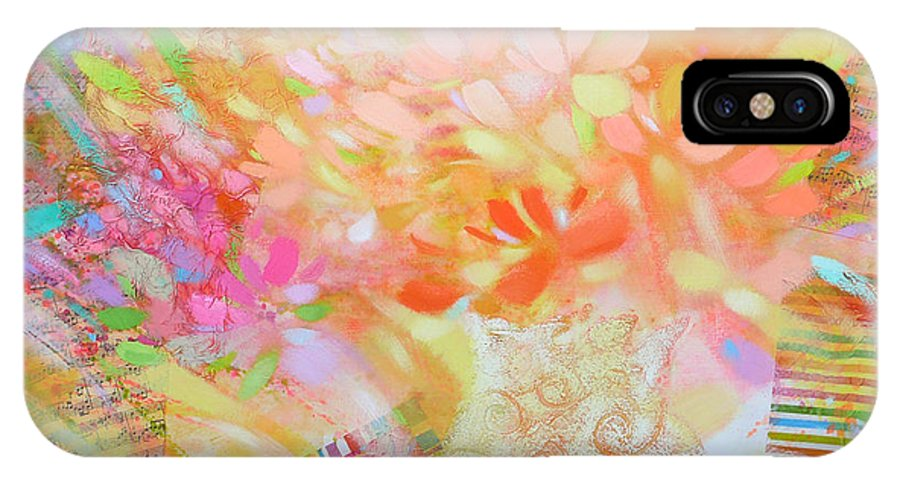 Love Morning IPhone X Case featuring the painting Summer by Petia Papazova