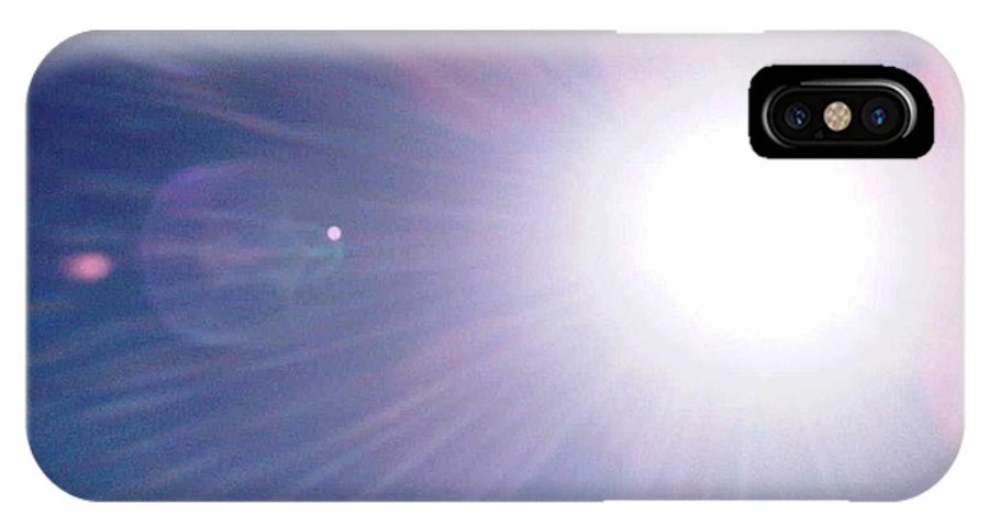 Sun IPhone X Case featuring the photograph Summer Sun by Fiona Glass W