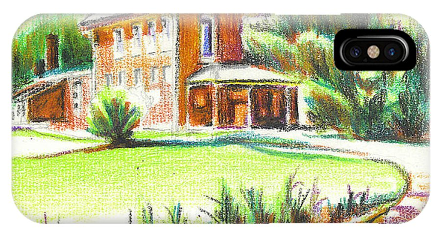 Summertime At Ursuline No C101 IPhone Case featuring the painting Summertime At Ursuline No C101 by Kip DeVore