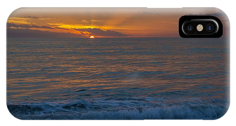 Sunset IPhone X Case featuring the photograph Sun Goin' Down by Russ Burch