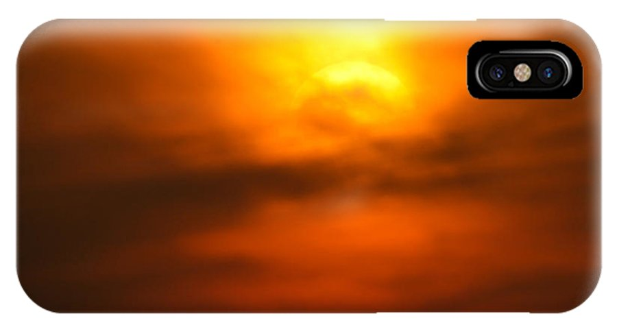 Africa IPhone X Case featuring the photograph Sun Mood by Alistair Lyne