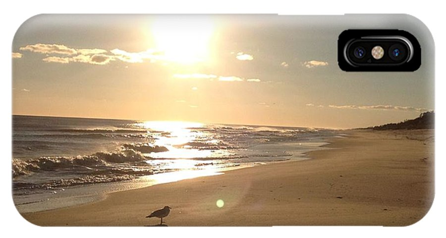 Landscapes IPhone X Case featuring the photograph Sunbather by John Ebanks