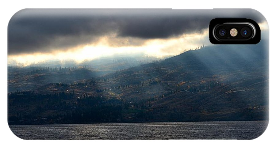 Phil Dionne Photography IPhone X Case featuring the photograph Sunbeams On The Mission II by Phil Dionne