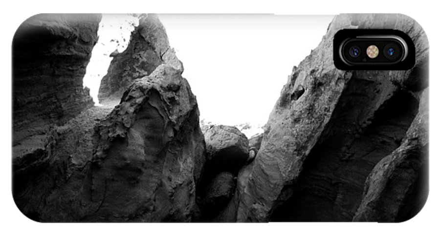 Rock Formation IPhone X Case featuring the photograph Sunlight And Shade by Emilio Maria