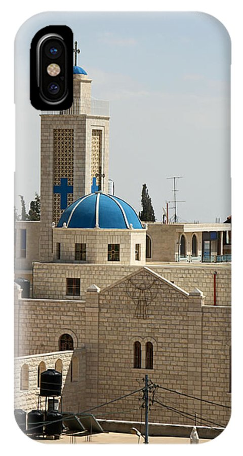 Taybeh IPhone X Case featuring the photograph Sunny Day by Munir Alawi