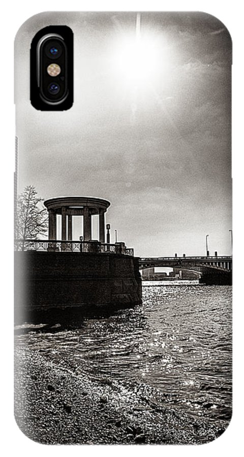 s.i.s IPhone X Case featuring the photograph Sunny London Beach 2 by Lenny Carter