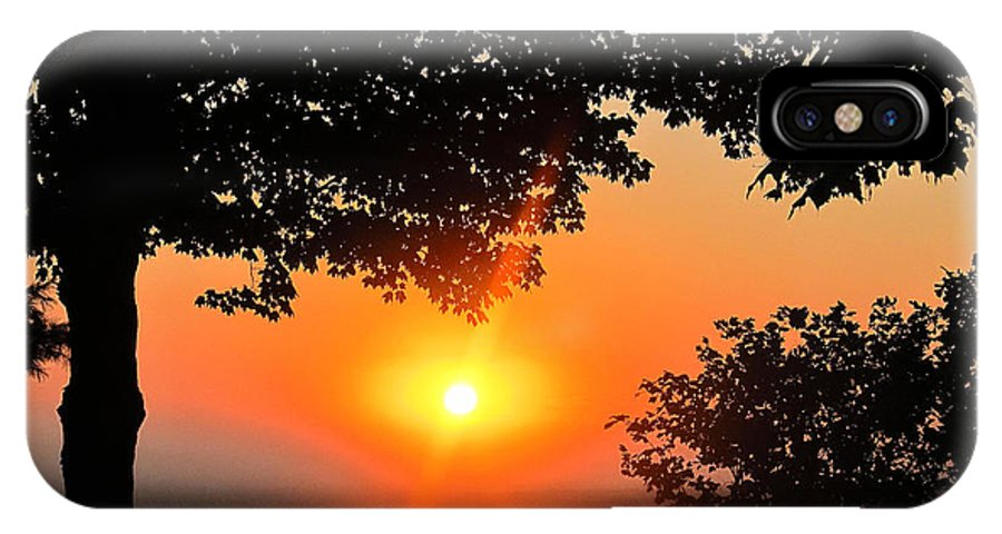 Sun IPhone X Case featuring the photograph Sunrise 365 38 by Tina M Wenger
