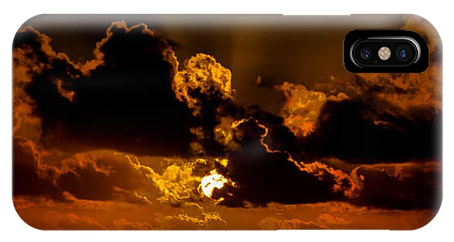 Hawaii IPhone X Case featuring the photograph Sunrise by Craig Watanabe
