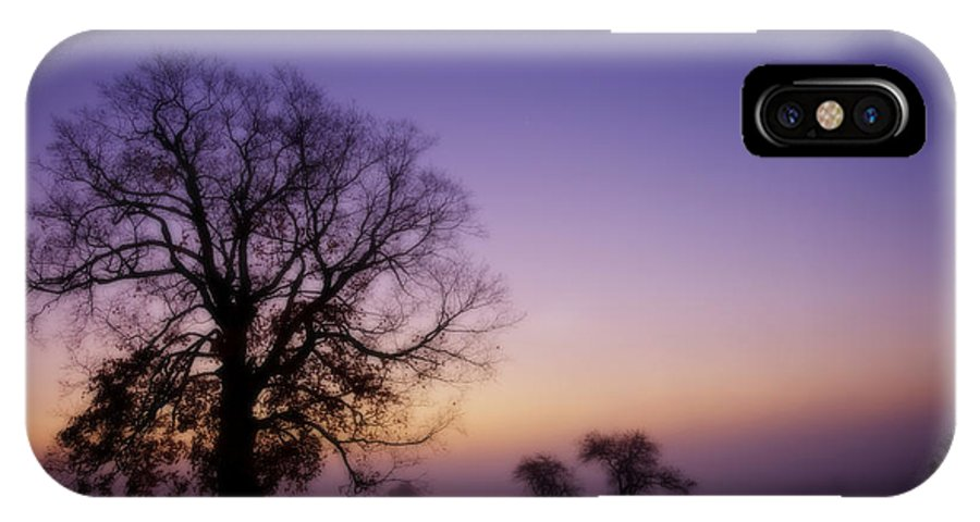 Sunrise IPhone X Case featuring the photograph Sunrise In The Valley by Don Powers