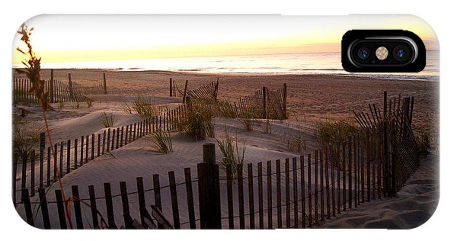 Sunrise IPhone X / XS Case featuring the photograph Sunrise by Janice Harper