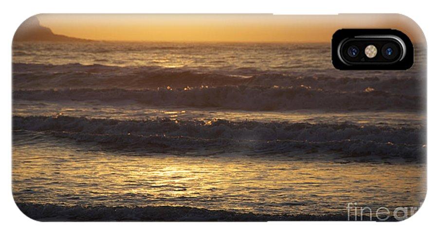 Sunrise In Rhode Island IPhone X Case featuring the photograph Sunrise Newport Ri Winter 2013 by Michael Mooney