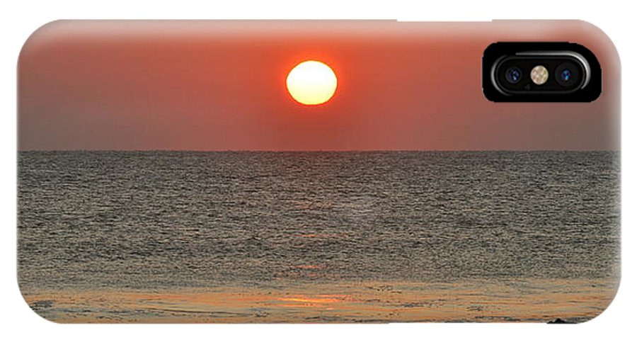 Sunrise IPhone X / XS Case featuring the photograph Sunrise On The Atlantic by MCM Photography