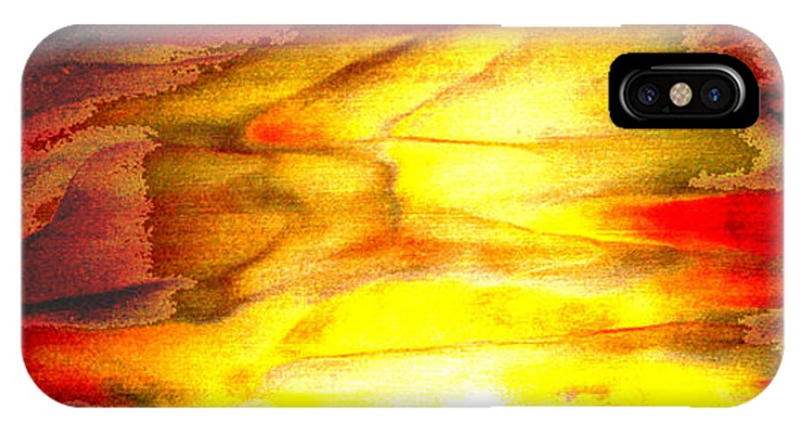 Nature IPhone X Case featuring the photograph Sunrise On The Steps Of Heaven by Bruce Iorio