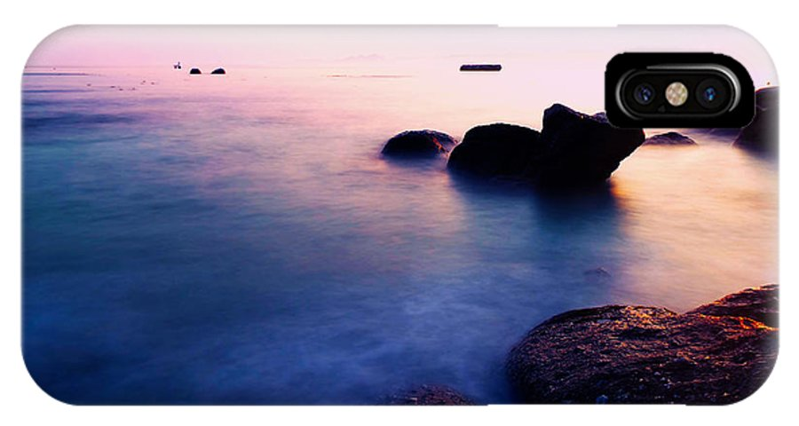 Seascape Photography Landscapes IPhone X Case featuring the photograph Sunrise2 Boulders Beach Cape Town by Charl Bruwer