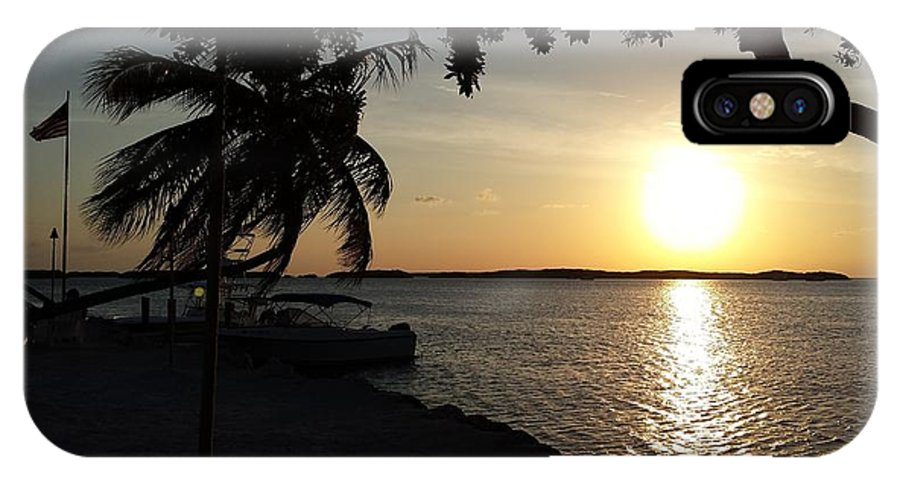 Sunset IPhone X Case featuring the photograph Sunset At Islamorada by Anthony Smith