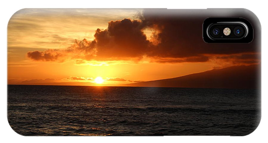 Caribbean IPhone X Case featuring the photograph Sunset At Sea by Kevin Willms