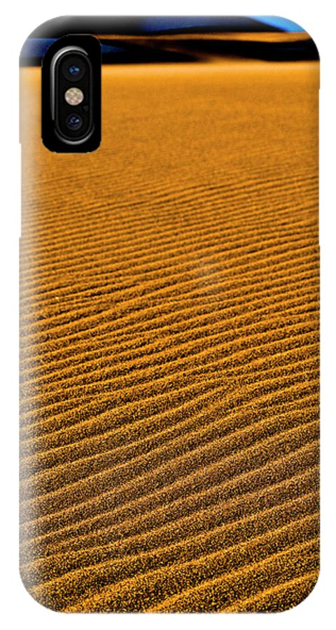 Alamosa IPhone X Case featuring the photograph Sunset At The Great Sand Dunes National by Rob Hammer