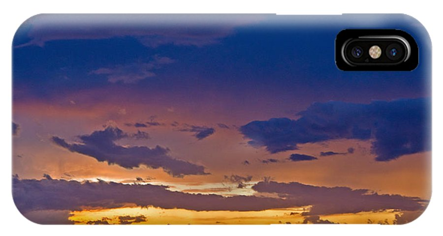 Florida IPhone X Case featuring the photograph Sunset By The Bay by Stephen Whalen