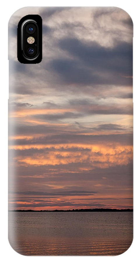 Sunset IPhone X Case featuring the photograph Sunset On The Bay by Gabrielle Harrison