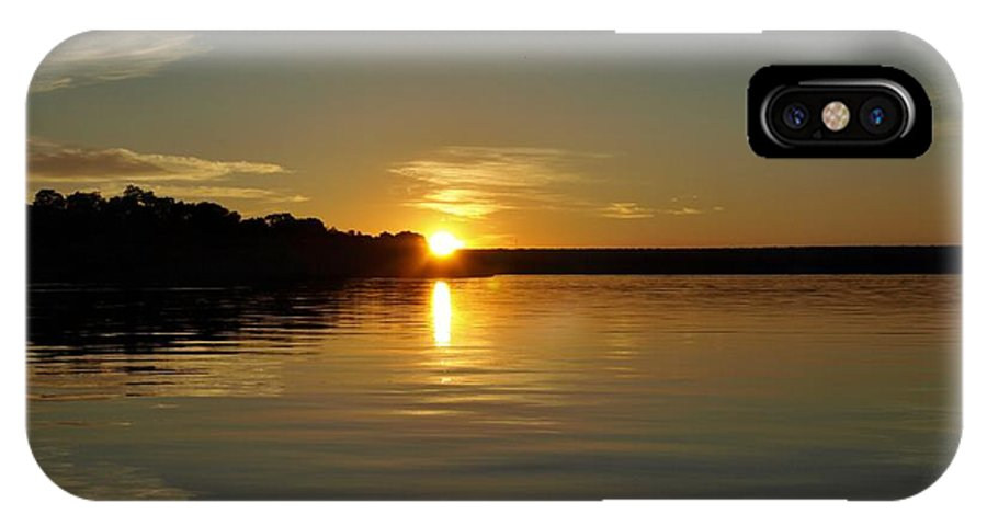 Africa IPhone X Case featuring the photograph Sunset On The Zambezi 2 by William Morgan
