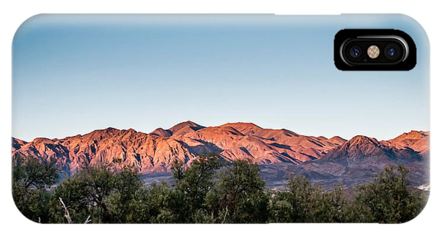 Death IPhone X Case featuring the photograph Sunset Over Death Valley by Tomas Stupka