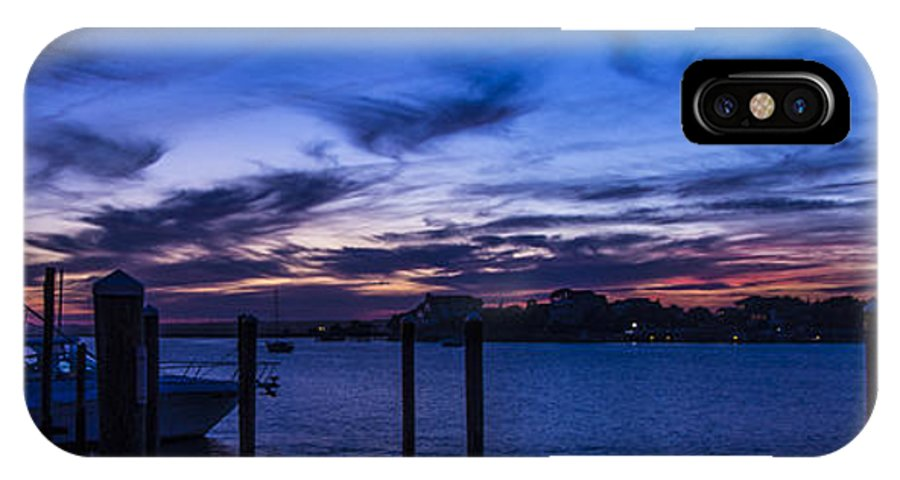 Wrightsville Beach IPhone X Case featuring the photograph Sunset Over The Waterway by Marie Kirschner