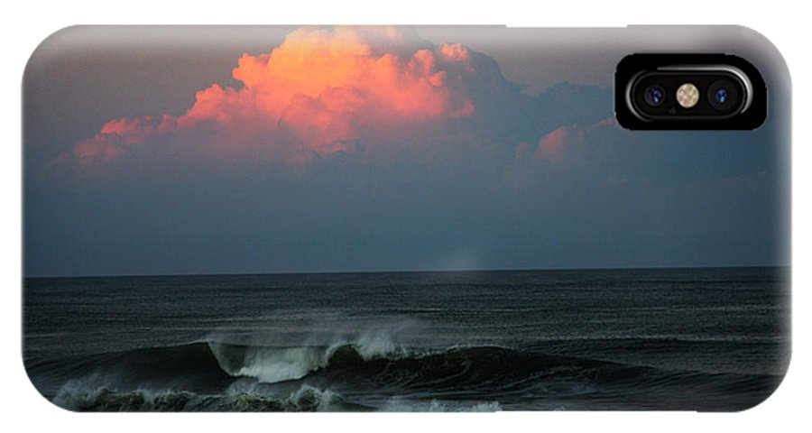 IPhone X Case featuring the photograph Sunseting Clouds by Nicholas Pullano