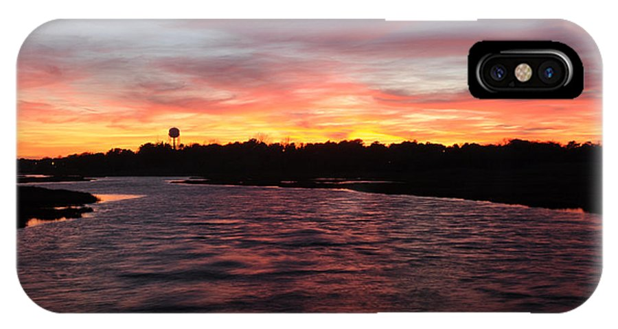 Sunset IPhone X Case featuring the photograph Swan River Sunset by Luke Moore
