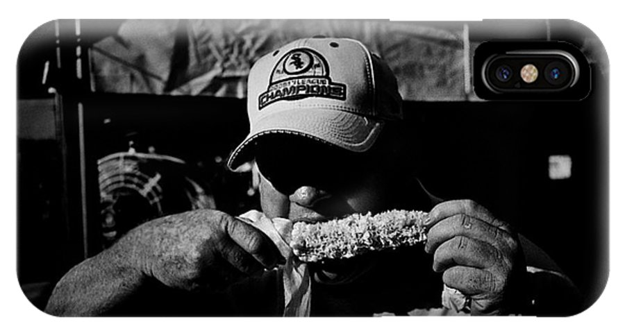 Frank-j-casella IPhone X Case featuring the photograph Sweet Corn 2.00 by Frank J Casella